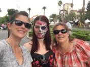 Day of the Dead with Paige and Aunti Anne